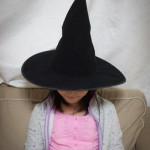ハロウィンで扮装、魔女の帽子を買う!