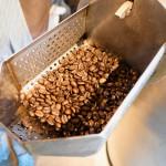 コーヒー豆をすぐ焙煎!