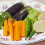 温野菜作ってみました!